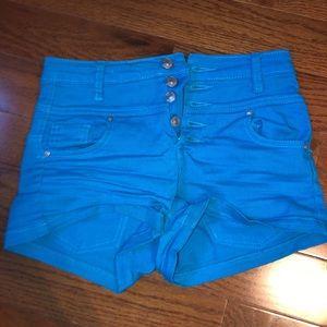 High Waisted Jean Shorts
